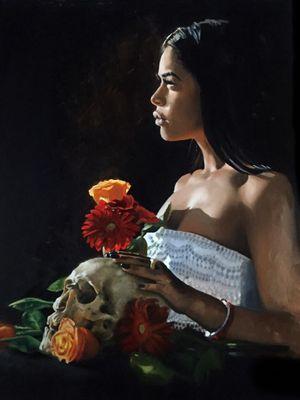 Art by Veronique Imbo #VeroniqueImbo #VeroImbo #realism #realistic #hyperrealism