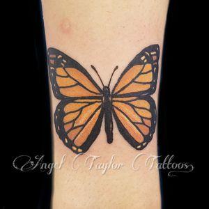 #butterflytattoo #AngelTaylorTattoos