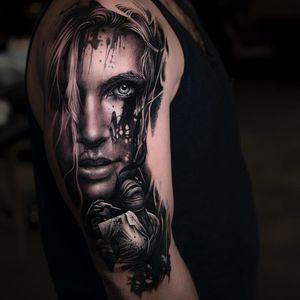 Tattoo by Veronique Imbo #VeroniqueImbo #VeroImbo #realism #realistic #hyperrealism