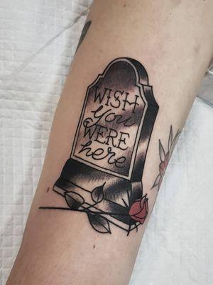 Tattoo by Richard Blackheart #RichardBlackheart #mementomoretattoos #mementomori #death #dying #skull #RIP