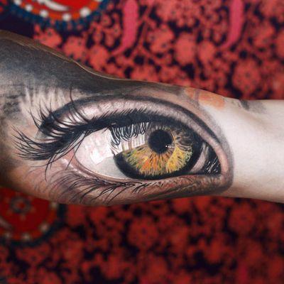 #Onlythebesttattooart #tattoo #ink #cristianrodrigueztattoos #blackandgrey #realism #surrealism #dotwork #ornamental #tribal #gemetric #colortattoo #fuerteventura #eye #eyetattoo #realisticeye