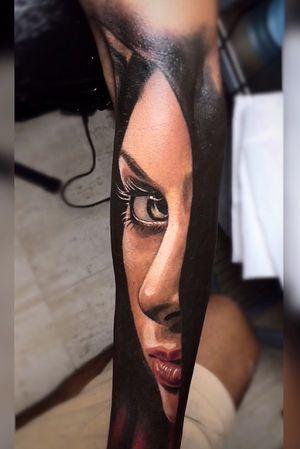 #Onlythebesttattooart #tattoo #ink #cristianrodrigueztattoos #blackandgrey #realism #surrealism #dotwork #ornamental #tribal #gemetric #colortattoo #fuerteventura #color #colorportrait