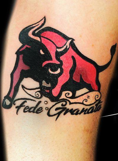 Bull tattoo #toro #bull #cartoon #torino #football #soccerteam
