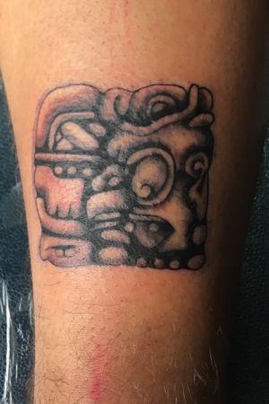 Mayan deity