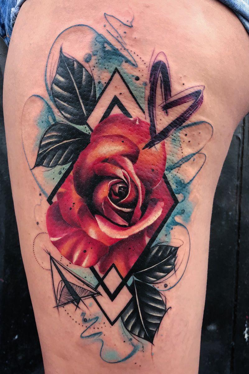 Tattoo from tom petucco
