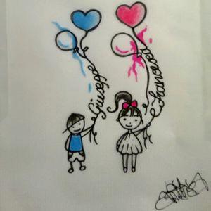 #drawing #children #simple #myart