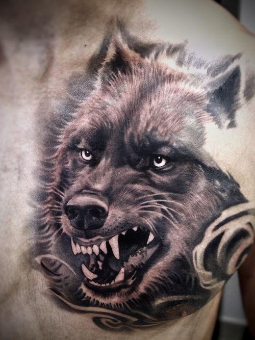 #Onlythebesttattooart #tattoo #ink #cristianrodrigueztattoos #blackandgrey #realism #surrealism #dotwork #ornamental #tribal #gemetric #colortattoo #fuerteventura #wolf #lobo
