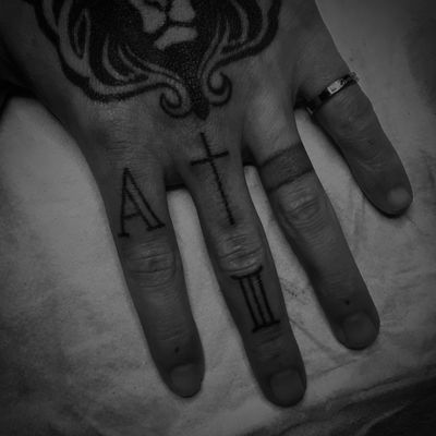 HAND POKED finger symbols ✖️ #txrzxn #tznkzn #trademarktattoo #durban #handpoke #handpoked #stickandpoke #sticknpoke #handpoketattoo #southafrica #africa #handpokedtattoo