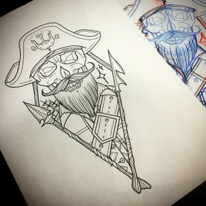 Dead pirate design