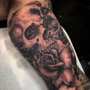 Tattoo by Justin Weatherholtz #JustinWeatherholtz Imperial Tattoo and Art Festival #ImperialTattooandArtFestival #InksmithandRogers #Jacksonville #Florida #tattooconvention #tattooart #convention #tattoofestival