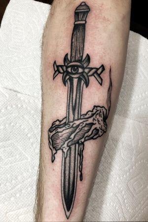 Ritual knife.