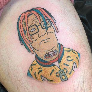 Tattoo by Nate Sprenkle #NateSprenkle Imperial Tattoo and Art Festival #ImperialTattooandArtFestival #InksmithandRogers #Jacksonville #Florida #tattooconvention #tattooart #convention #tattoofestival