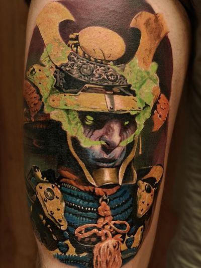 #OniSamurai #DemonSamurai 👹 for @lovingthemuffin Thank you so much for brave sitting! 🖤 #MrWhiteSnakeTattoo #worldfamousink #tattoosocial #Bakutattoo #tattoouk #art #tattoo #inked #ink #tatuaz #portsmouth #southamptontattoo #southampton #krakow #poland #hampshiretattoo #FreshlyInkedMag #samurai #demontattoo #samuraitattoo #tattoos #tattooartist #design #tattoodesign #tattooidea #onitattoo #oni #japan @freshlyinkedmagazine @totaltattoo @skindeep_uk