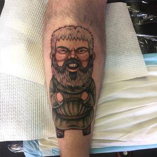 Game of Thrones tattoo by JenJen #JenJen #GameofThrones #GameofThronestattoo #GoT #GoTtattoo #HBO #tvshowtattoo #popculturetattoo #Hodor