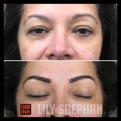 Powder brows lifting the tails & dropped years off this hard working mama ✊🏼 —————————————————————————— 🗓 BOOKING FOR APRIL-JUNE. Click link to book NOW! https://squareup.com/appointments/book/AFC5XSQCX307F/bouj-brows-san-francisco-ca Microblading/Ombre - $400 Combo Brows - $500 Initial Touch Up (4-6 weeks later)- $100 Cover Up & Color Correction - $100 —————————————————————————— #bouj #boujbrows #browsbylily #microblading #ombre #ombrebrows #powderbrows #brows #browqueen #browslayer #tattoo #browgame #browbabe #onfleek #eyebrows #pmu #permanentmakeup #eyebrowtattoo #makeup #slay #beauty #bayarea #sf #sanfrancisco #sfbayarea #inkaddict #bodyart #inked #inkedgirls #sanfranciscomicroblading