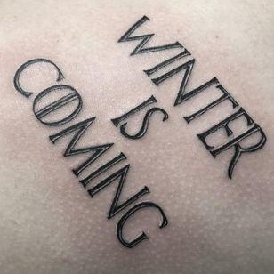 Game of Thrones tattoo by Rodrigo Canteras #RodrigoCanteras #GameofThrones #GameofThronestattoo #GoT #GoTtattoo #HBO #tvshowtattoo #popculturetattoo