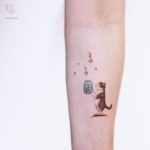 Forearm tattoo by Ayhan Karadig #AyhanKaradig #TattoodoApp #TattoodoApptattooartist #tattooartist #tattooart #tattooidea #inspiringtattoo #besttattoo #awesometattoo