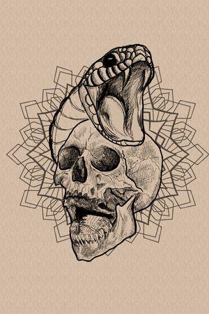 #skull #sketch