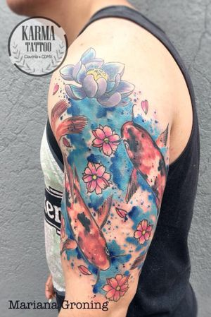 I will be working in Vancouver BC at Rainfiretattoo if you want a watercolour tattoo please contact me through website: karmatattoo.net                                              My studio is based in Mexico City, if you are visiting and want a color tattoo you can contact me through the website: www.karmatattoo.net #watercolor #watercolortattoo #colortattoo #colortattoos