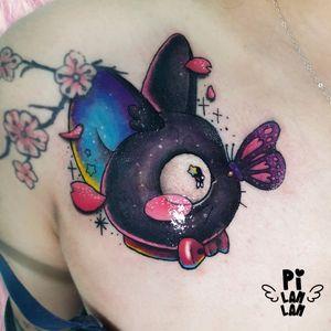 🌸Kiki's Delivery Service🌸 It's a cover up! #魔女宅急便 #刺青 #紋身 #tattoo #magicalgirl #cat #cattattoos #love #kawaii #cutetattoo #supercutetattoos #supercute #cute #sparkletattoo #kikideliveryservice