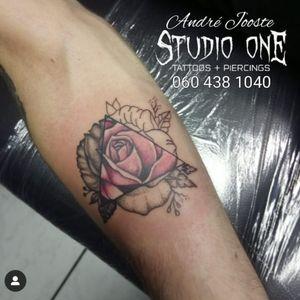 #flower #rose #blackandgray #dotwork #color #tattoo #andre_jooste_tattoo #andre_jooste #lefthandtattoo #studio1 #ink #inked #inklife #inkstagram #vetastudios #tattoosocietyafrica #southafricantattoo  I'm using: @bodygraphicstattoosupplysa @rrdtattoosupplies @moog_machines_ @lefthandtattooaftercare @criticaltattoosupply @fusion_ink