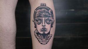 #andreivintikov #tattoominsk #minsktattoo #surrealism #psychedelic #metropolis #hel