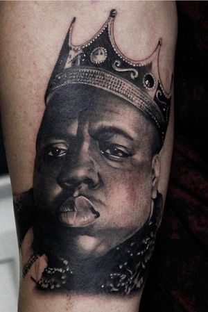 #art #artist #artist #tattoo #tattoos #tattooed #tattooer #tattooist #tattooartist #bng #bngtattoos #blackandgraytattoo #blackandgreytattoo #biggie #biggiesmalls #ripbiggie #portait #portraits #portaittattoo #brooklyn #wakefield #wakefieldtattoo