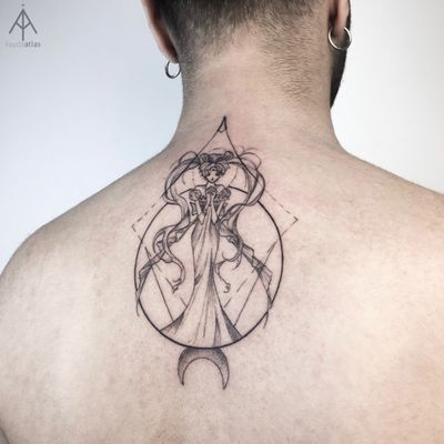#ilaydatlas #sailormoon #ink #tattoo #anime #line #white #detail