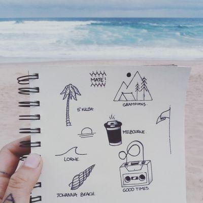 #flashtattoo #travel #stickandpoke #coffee #camping #Australia