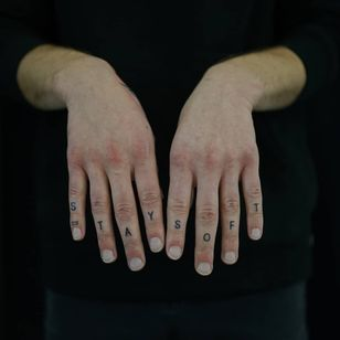 Non electric Hand poke tattoo by Blame Max #BlameMax #handpoke #stickandpoke #nonelectric #linework #illustrative #fineline #fingertattoo #handtattoo