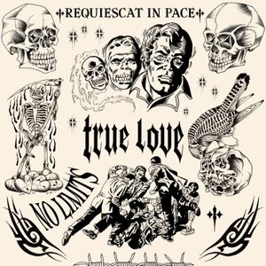 TRUE LOVE/ New flashs available. Dm me for more informations. Follow me on instagram @6mike6end6 #tattooart #tattoo #tatouage #blackwork #blackworktattoo #blackworkers #blacktattoo #blackandgrey #fineline #Flash #flashart #flashtattoo #tattooflash #flashworkers #flashaddicted #skeleton #bird #lettering #typography #typographie #letters #comics #skull #fight #tribal #GhostRider #reaper #heart #barbedwire