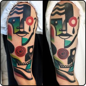 Fresh and healed #healed #cubism #abstract