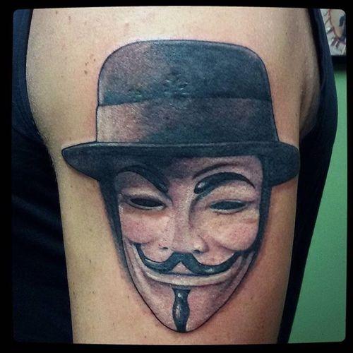#vforvendetta #mask #realistic #realism #blackandgrey