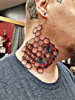Geometric Neck Piece Workhorse cartridge needles Fusion Ink