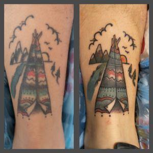 New review #Revival #design #artist #tattoolifestyle #indian #sunsettattoo