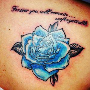 #rosetattoo #rose #bluerose #work #tattooing #myart #myartwork
