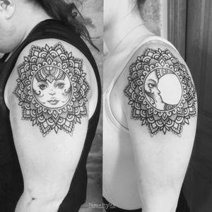 Tatouages communs 🖤 #tattoos #tattooist #tattooartist #dijon #blackwork #blackworkerssubmission #mandala #mandalatattoo #ornementaltattoo #ornamentaltattoo #dotworkers #dotworktattoo #dotwork #mehndi #mehenditattoo #MehndiDesign #vegantattoo