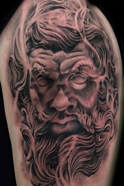 Zeus tattoo #tattoodo #blackandgrey #blackandgreytattoos #bngtattoo #bnginksociety #portrait #inksav  #realism #artnerd #artcollective #darkartists #tattooed_body_art #tattooartists #superbtattoos #tattoorealistic #uktoptattooartists #killerinktattoo #prophetsandpoets #delmaytattoos #totaltattoomagazine  #theblackandgreytattooleague #realistic.ink @tattoo.artists  @uktta @realistic.ink @totaltattoo @killerinktattoo  @tatts_hd @tattoo.artists @superb_tattoos @fkirons #leicester