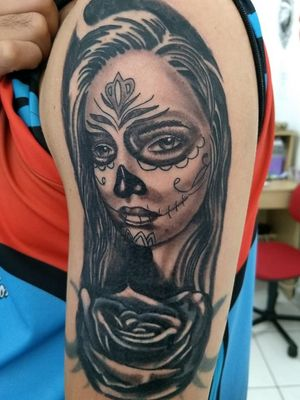 #catrinastattoo #catrina #catrinatatoo #mexicantattoo #mexicanstyle #mulherestatuadas #mulher #coverup