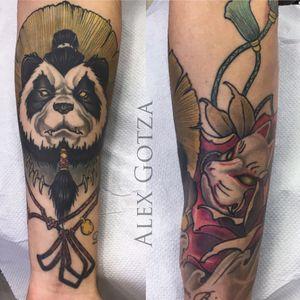 Tattoo by Alex Gotza .Healed long time now.Done using: @kwadron @sunskintattoo @balm_tattoo #tattoo #tattoos #inked #tattooart #neotraditional #healed #neotraditionaltattoo #colortattoo