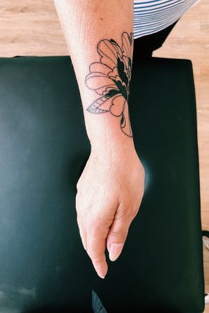 Recouvrement d'un vieux tatouage / Cover of an old tattoo