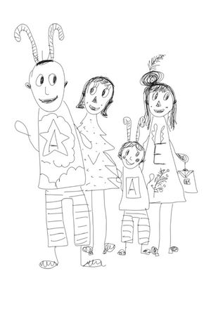 family portrait fineline