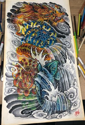 #dragon #japanese #art #slavaborodaytattoo