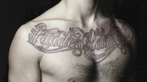 #lettering #chicanolettering #chestpiece