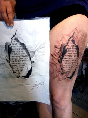 #realismtattoo #tattoorealistic #artisttattoo #laforgenoiretattooshop