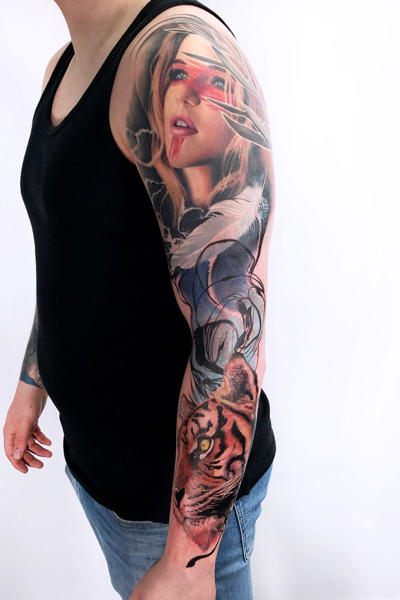 Tattoo from Freya Micha'Cecilie Wagner Fjordvald
