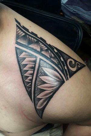#PolynesianTattoos #CoverUpTattoos