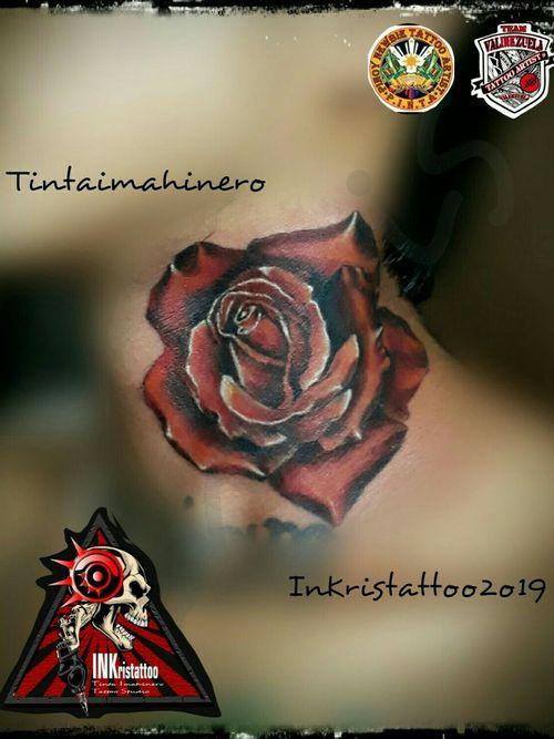 #RoseTattoos   #coloredtattoo