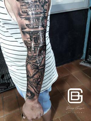 Tattoo by Gaspar tattooart