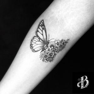 Butterflies Tattoo #tattoobutterflie #tattoo #tattooart #tattooist #tattoo #sphynxtattooDublin #tattooflores